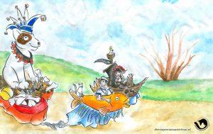 dpo dierenpension oosterhout wallpaper karnafal hond vis parade