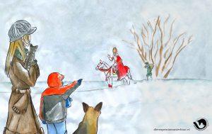 dpo dierenpension oosterhout wallpaper sinterklaas hond kat